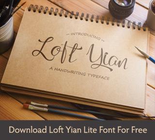 Loft Yian Script Font